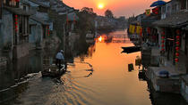Private Fengjing and Xitang Water Town Sunset Boating Tour with Dinner from Shanghai, Shanghai,...