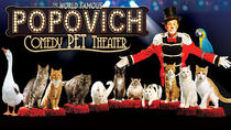 Popovich Comedy Pet Theater au Planet Hollywood Resort and Casino, Las Vegas, Family-friendly Shows