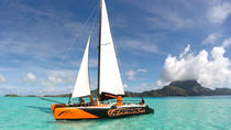 Half-Day Bora Bora Catamaran Sailing and Floating Bar Experience, Bora Bora