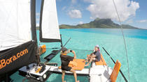 Private Tour: Halbtägige Bora Bora Katamaran Sailing und Floating Bar Experience, Bora Bora, Catamaran Cruises