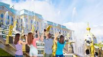 2 Day Complete Shore Excursion Visa Free Small Group Tour of St Petersburg and Suburban Palaces, St...