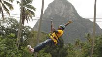 Zipline Adventure Through Morne Coubaril's Estate in St Lucia, St Lucia, Historical & Heritage Tours