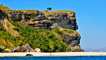 Island Hopping: Capones Island and Anawangin Cove Boat Tour from Manila