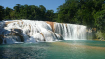 Agua Azul and Misol Ha Waterfalls Half-Day Tour from Palenque, Palenque