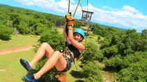 Negril Zipline Safari ATV Lunch Transfer Combo, Negril, 4WD, ATV & Off-Road Tours