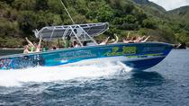 St Lucia Speed Boat and Sightseeing Tour to Soufriere, St Lucia, Catamaran Cruises