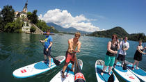 Lake Bled Stand-up Paddling and Vintgar Gorge Half Day Tour from Ljubljana, Ljubljana