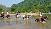 HORSE HIKE TO THE HEALING THERMAL WATERS OF MANIALTEPEC, Puerto Escondido, Hiking & Camping