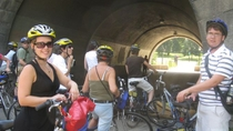 Fietstocht langs de Hudson River Park Greenway en door Central Park, New York City, Fiets- en mountainbiketochten