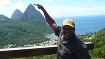 Scenic Tour of Soufriere, St Lucia, Hiking & Camping