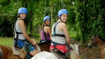 San Jose Combo Tour: Horseback Riding and Sarapiquí River Boat Ride, San José