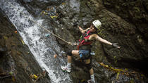 Small-Group Tour: Waterfall Rappelling, Zipline and Trek Adventure from Jaco, Jaco, Climbing
