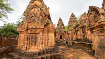 Small Group Full-Day Banteay and Preah Khan Srei Temple Tour w/Hotel Pickup, Siem Reap, Day Trips