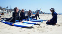 Lecciones de surf en la playa en San Clemente, Dana Point, Surfing Lessons