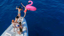Floating party in exclusive boat with beers, Barcelona, Day Cruises