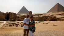 Full Day private trip to visit Giza Pyramids Sphinx Memphis and Sakkara, Giza, Private Sightseeing ...