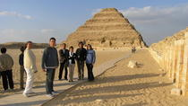 private Ancient Egypt hisotry trip to Giza pyramids sphinx Dahshour Sakkara and Memphis in Cairo or ...