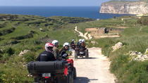 Tour in quad di mezza giornata a Gozo, Gozo, 4WD, ATV & Off-Road Tours
