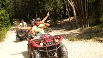 3-in-1 Adventure Combo Tour: ATV Ride, Cenote Swim and Rio Secreto Nature Reserve, Playa del ...