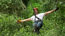 Cancun Combo Tour: ATV and Zipline with Cenote Swim, Cancun, Ziplines