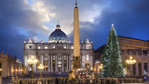 Christmas in Rome: Family Tour to the Basilica of Saint Peter and Saint Peter's Square, Rome, ...