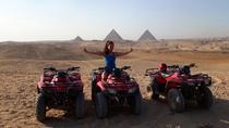 Custom tour to Giza pyramids and quad bike at the desert, Giza, City Tours
