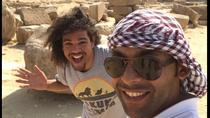 Stopover trip to Giza pyramids Sphinx Memphis Sakkara and boat ride on the Nile, Giza, Private ...