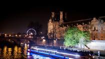 Private Tour: Romantic Seine River Cruise Dinner and Illuminations Tour, Paris, Private Sightseeing...