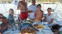 Private Full Day Sail Cruise from Kalamata Koroni Kardamili Stoupa Including Lunch and Drinks, ...