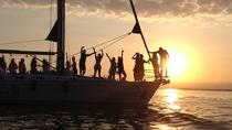 Private Sunset Sailing Cruise from Kalamata Koroni Kardamili Stoupa with Champagne and fruits, ...