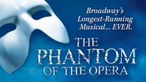 Phantom of the Opera op Broadway, New York City, Theater, shows & musicals