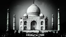 Taj Mahal Sunrise & sunset Black Taj Mahal Foundation Full day Tour with Sikri, Agra, Full-day...