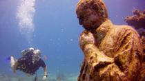 Discover Scuba Diving at the Underwater Museum and Manchones Reef from Cancun, Cancun, null