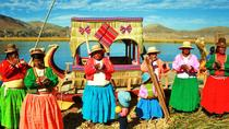 Kayaking on Lake Titicaca to Uros Floating Islands