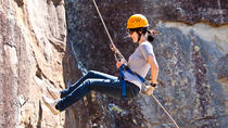 Abseiling at Glenworth Valley Outdoor Adventures, New South Wales, Climbing