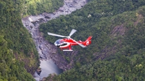 Kuranda Scenic Railway, Skyrail, Great Barrier Reef Helikoptertour en Cruise, Cairns en het ...