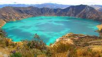 Quilotoa Lagoon and Indian Markets in One Day from Quito, Quito, Private Sightseeing Tours