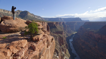 East Rim Drive do Grand Canyon de Jipe e filme IMAX, Parque Nacional do Grand Canyon