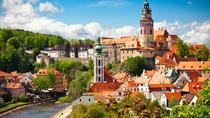 Private transfer tour for 4 PEOPLE to UNESCO World Cultural Heritage Monuments - Cesky Krumlov!,...