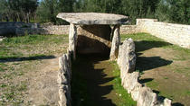 Dolmen of Chianca megalithic tomb - Bisceglie - Unesco heritage witness a culture of peace for...