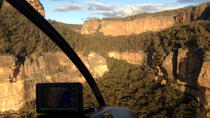 Blue Mountains Eco Helicopter Flight from Sydney Including Megalong Valley 4WD Tour, Sydney