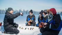Lapland Snowmobiling, Ice Fishing, and Tasty Food in Rovaniemi, Rovaniemi, Ski & Snow