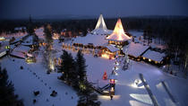 Visit to Santa Claus Village and Snowmobiling to Reindeer Farm from Rovaniemi, Rovaniemi