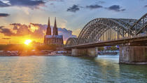 Cologne Hop-On Hop-Off Bus Tour and Rhine River Sightseeing Cruise, Cologne, null