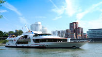 Düsseldorf Hop-On Hop-Off Bus Tour and Rhine River Sightseeing Cruise, Rhine River, Hop-on ...