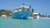 St Maarten Motorboat Cruise: Long Bay, Creole Rock and Tintamarre Island, St Maarten, Kayaking & ...