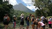 Morning Volcano Hike, Lunch & Hot Springs River, La Fortuna, Hiking & Camping