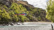 Queenstown Shotover River helikoptervlucht en wildwaterraften, Queenstown, Wildwater-raften