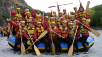 Queenstown Triple Challenge (Jet Boat Ride, Helicopter and White Water Rafting), Queenstown, Day ...