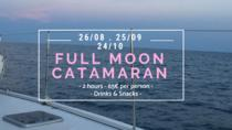 FULL MOON Excursion, Barcelona, Day Cruises